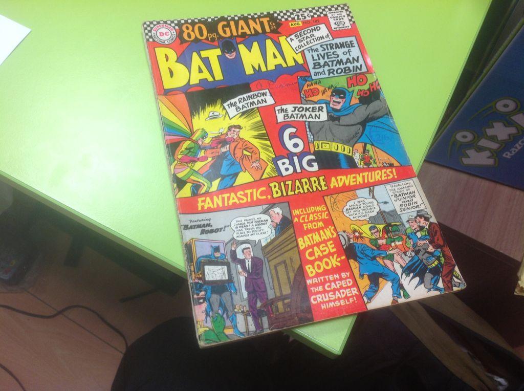 Batman - 182 cover