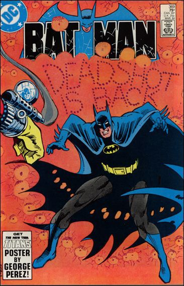 Batman - 369 cover