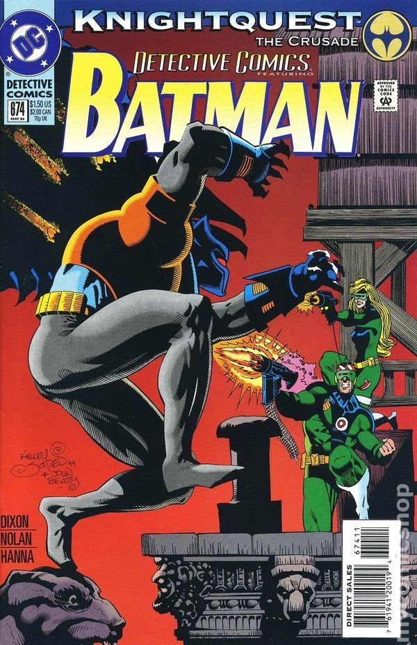 Batman - 674 cover