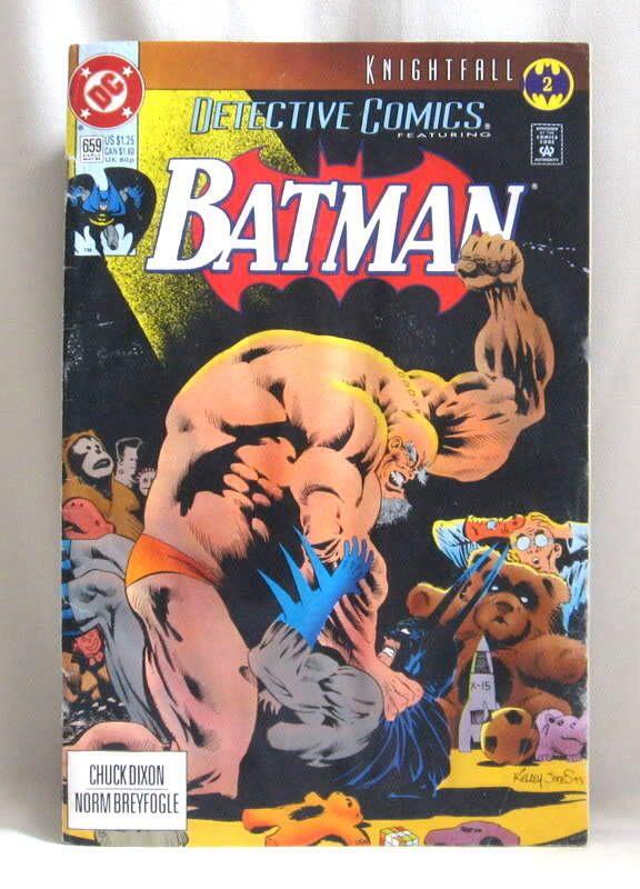 Batman - 659 cover