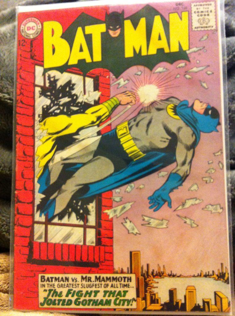 Batman - 168 cover