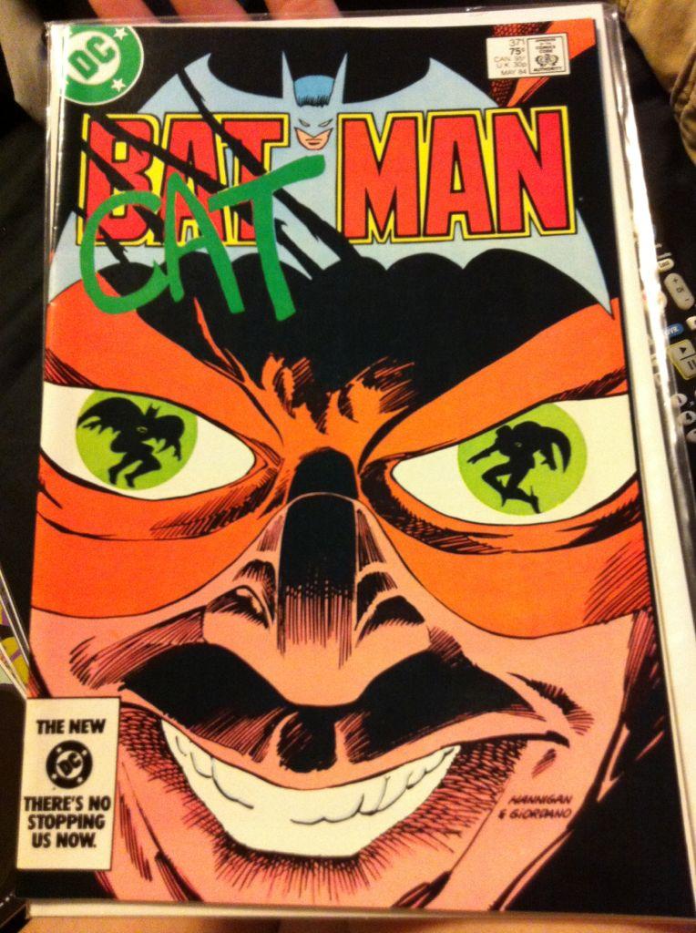 Batman - 371 cover
