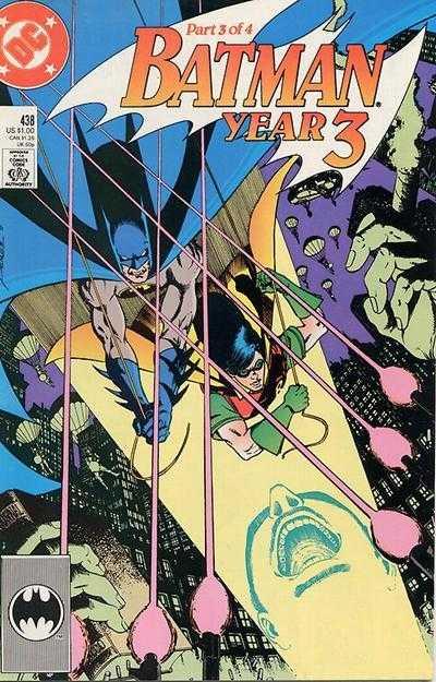 Batman - 438 cover