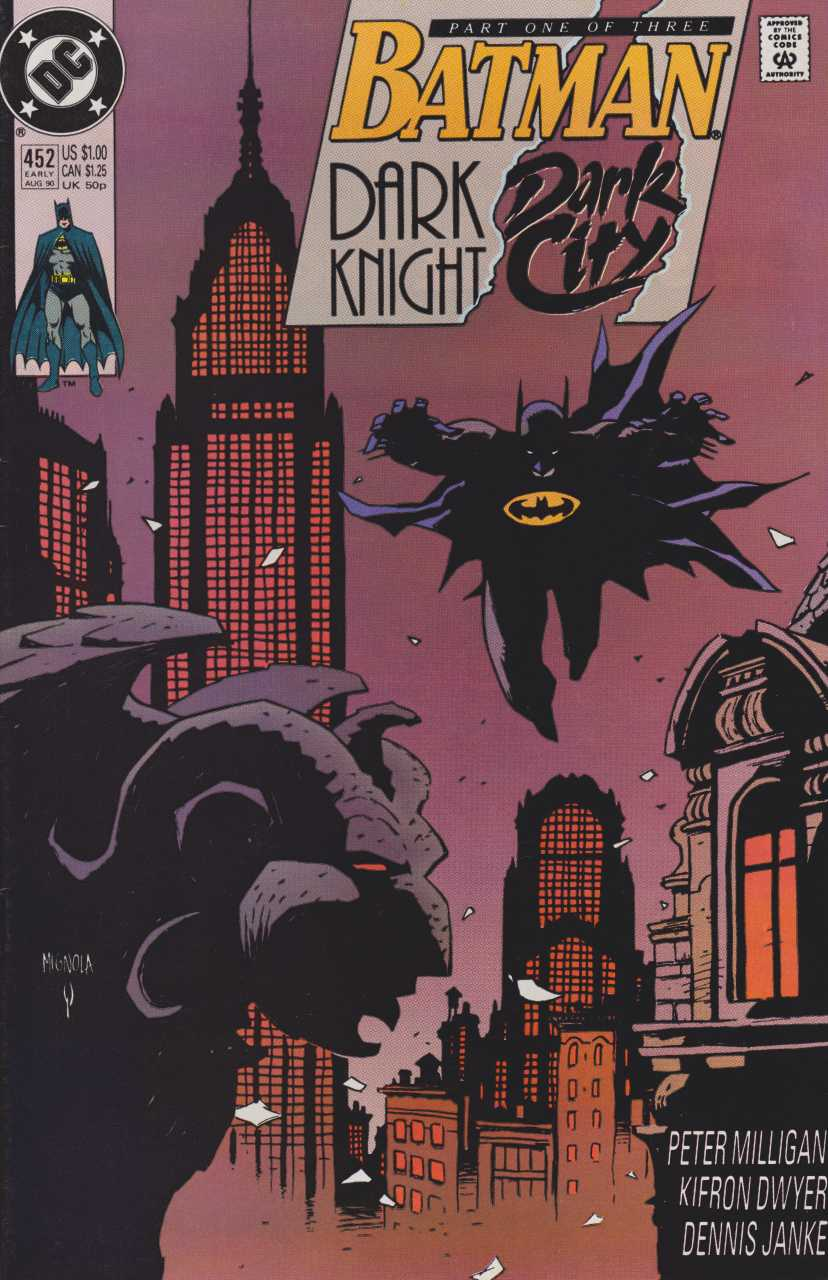Batman - 452 cover