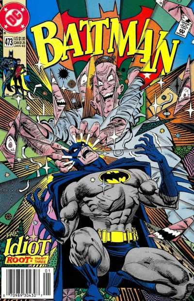 Batman - 473 cover