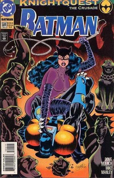 Batman - 504 cover