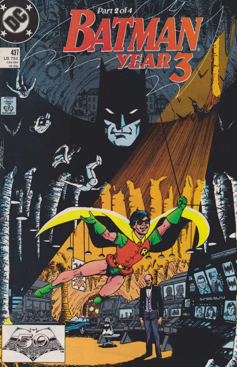 Batman - 437 cover