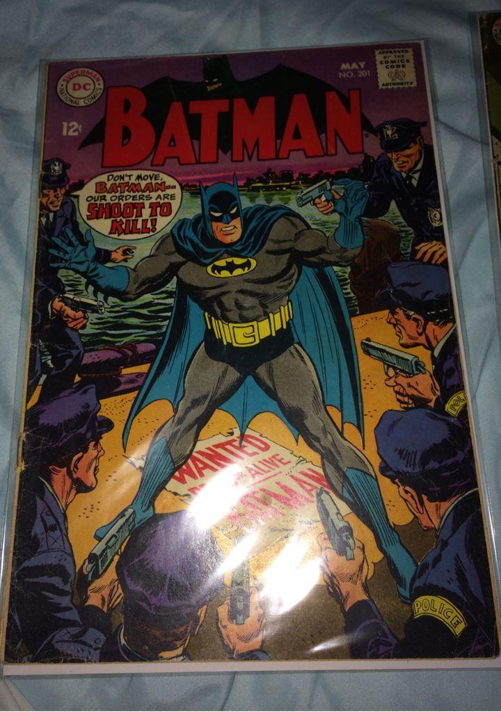 Batman - 201 cover