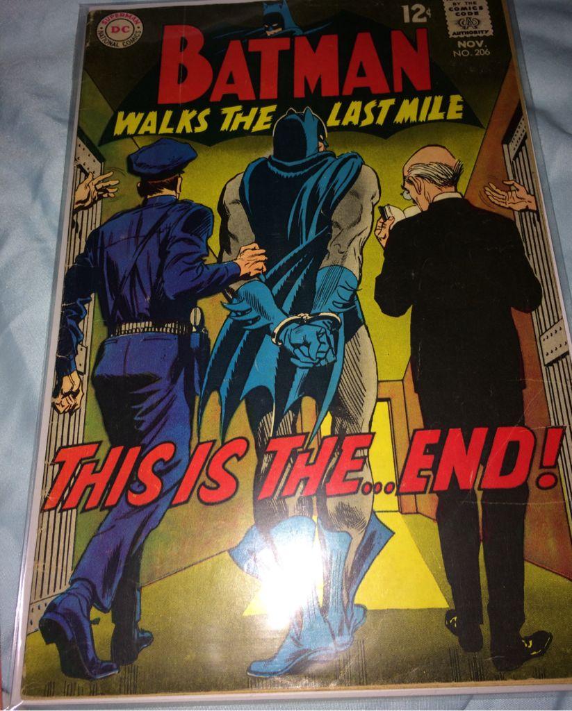 Batman - 206 cover