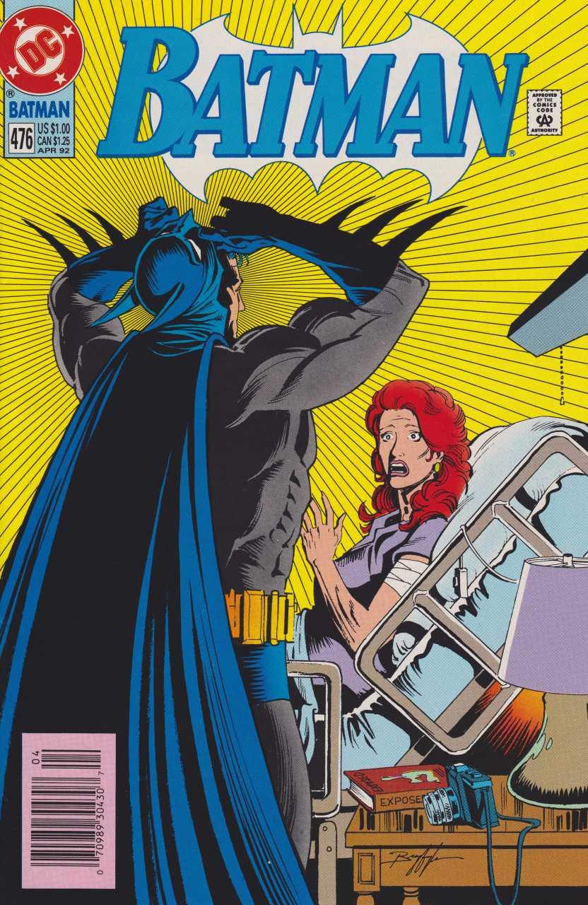 Batman - 476 cover