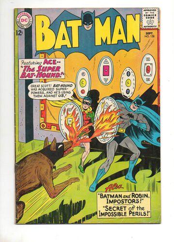 Batman - 158 cover