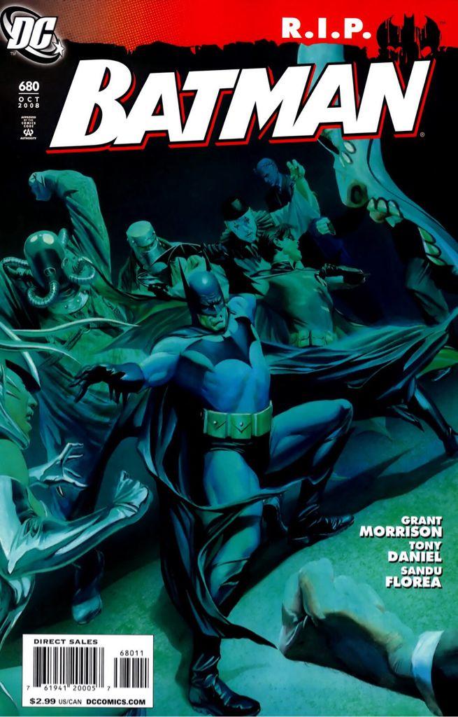 Batman - 680 cover