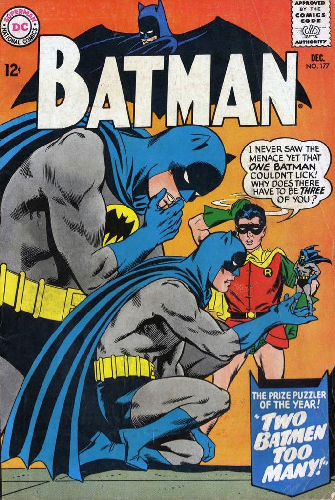 Batman - 177 cover