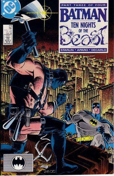 Batman - 419 cover