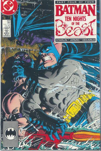 Batman - 420 cover