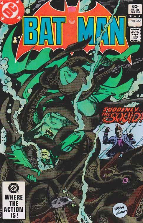 Batman - 357 cover