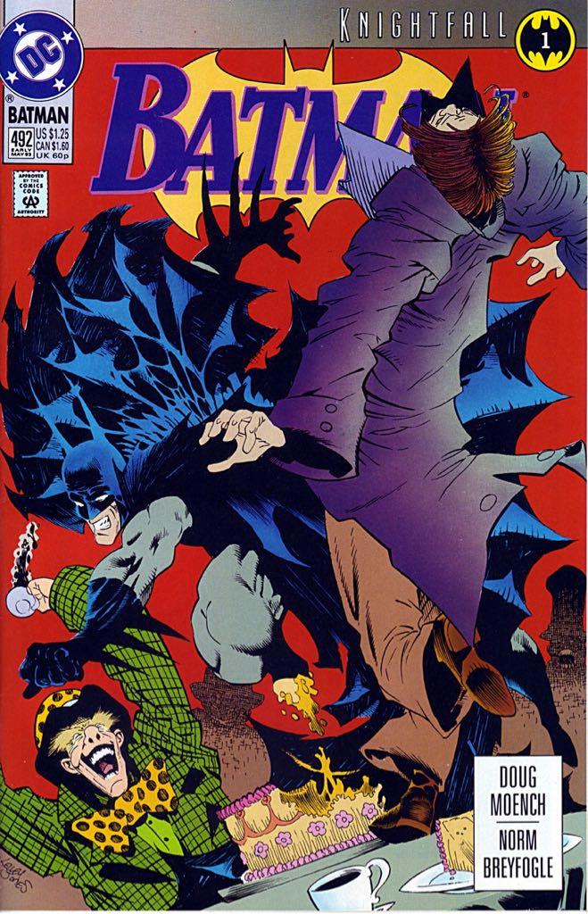 Batman - 492 cover