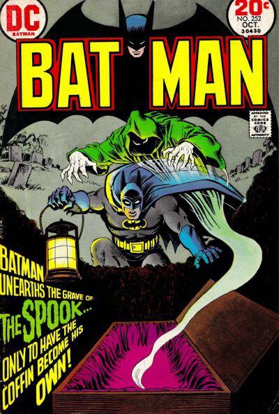 Batman - 252 cover