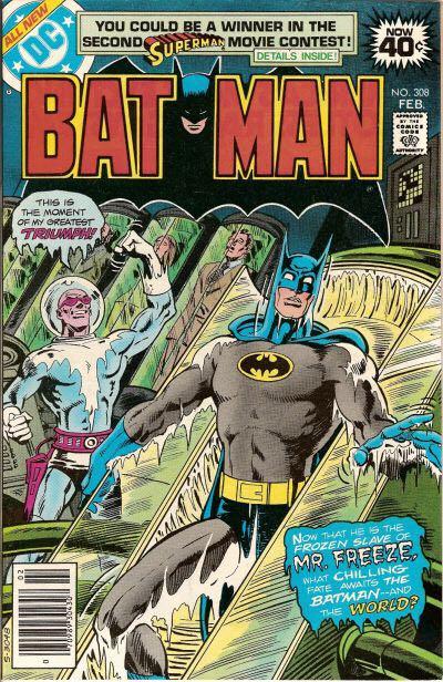 Batman - 308 cover