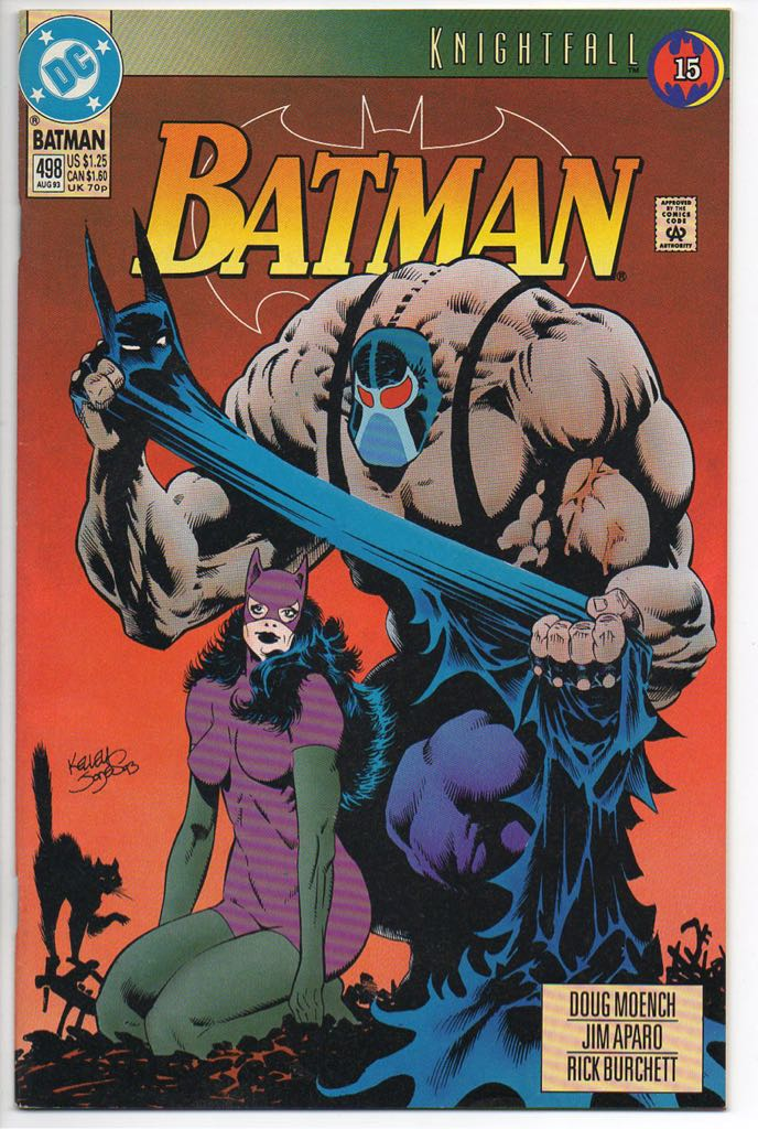 Batman - 498 cover
