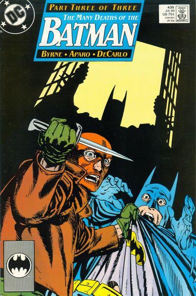Batman - 435 cover