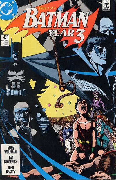 Batman - 436 cover
