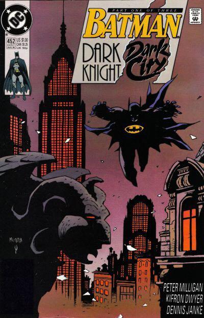 Batman - 452 cover
