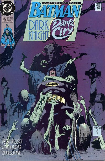 Batman - 453 cover