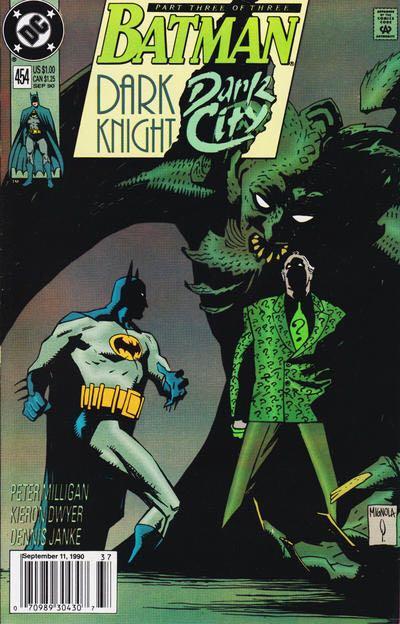 Batman - 454 cover