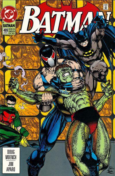 Batman - 489 cover