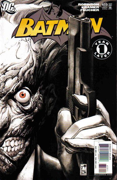 Batman - 653 cover