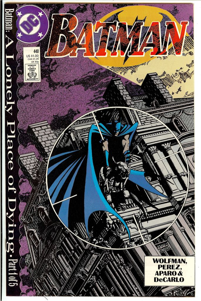 Batman - 440 cover