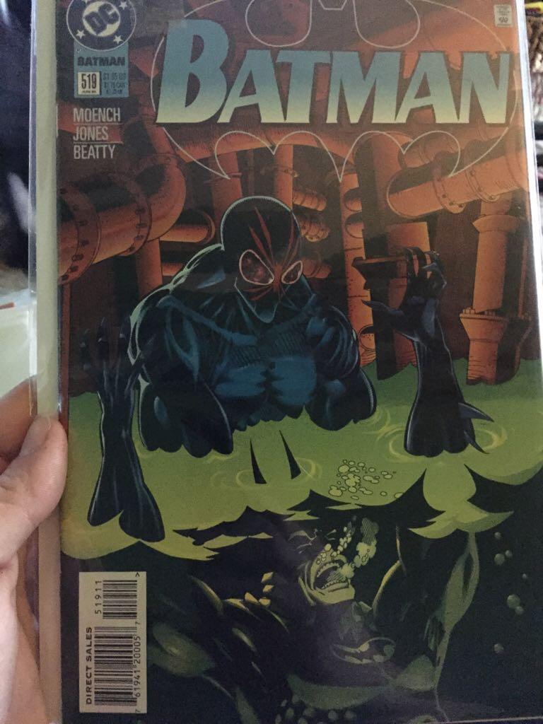 Batman - 519 cover