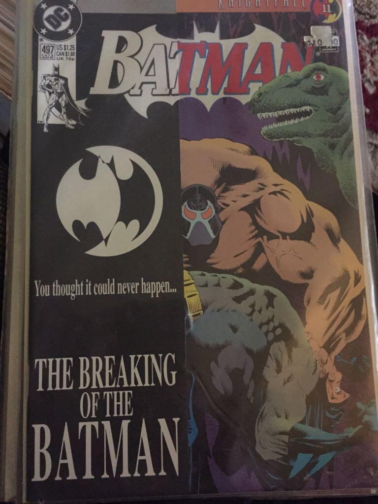 Batman - 497 cover