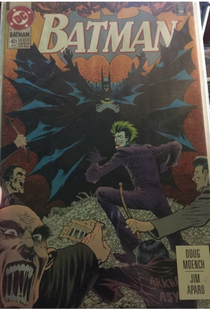 Batman - 491 cover