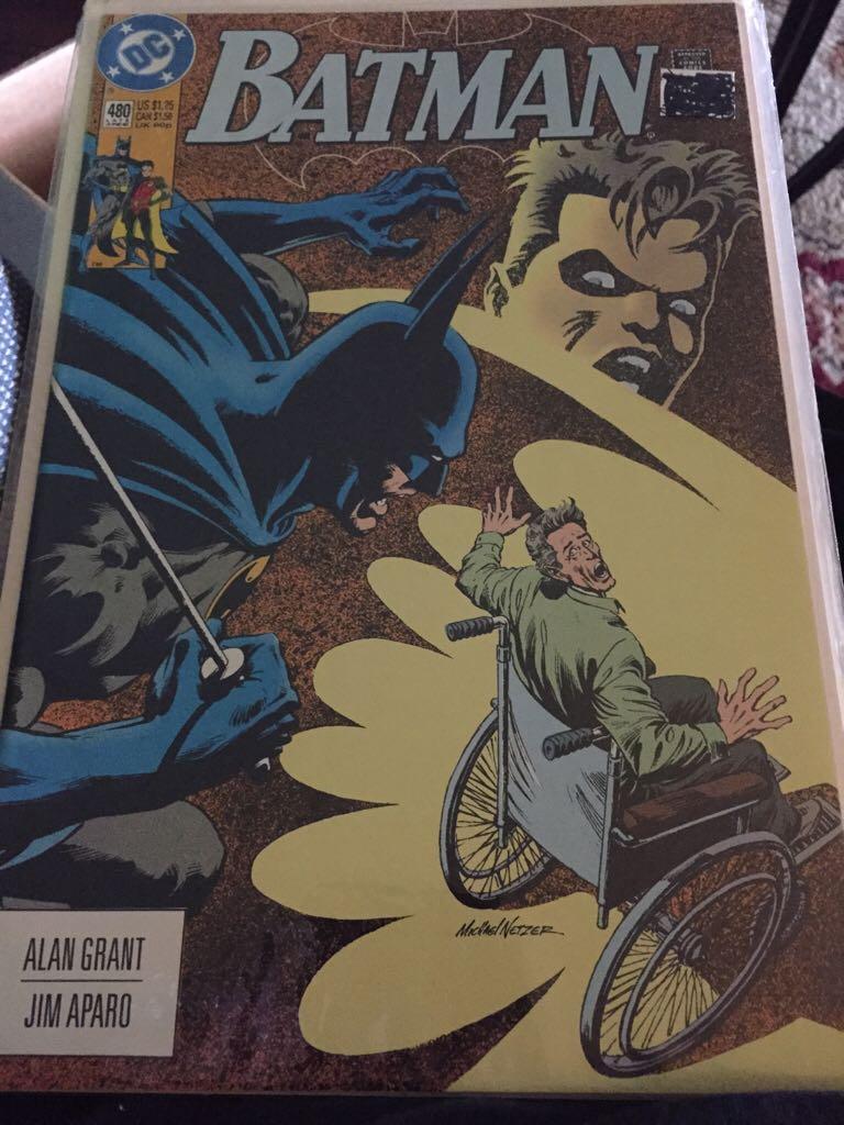 Batman - 480 cover