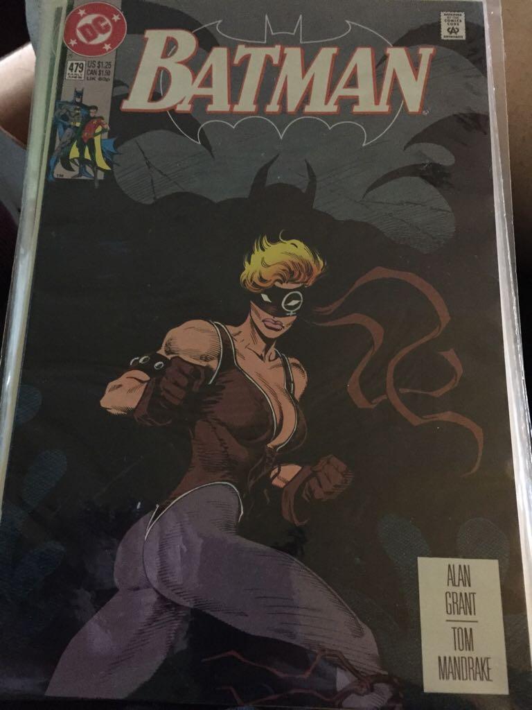 Batman - 491 cover