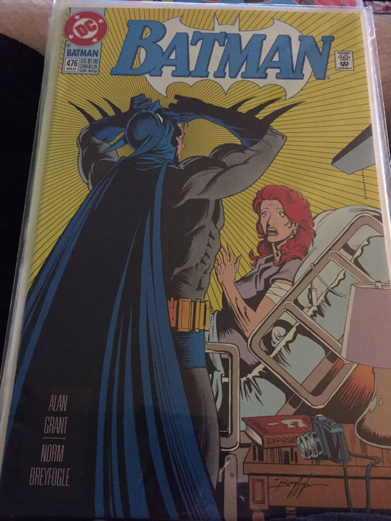 Batman - 476 cover