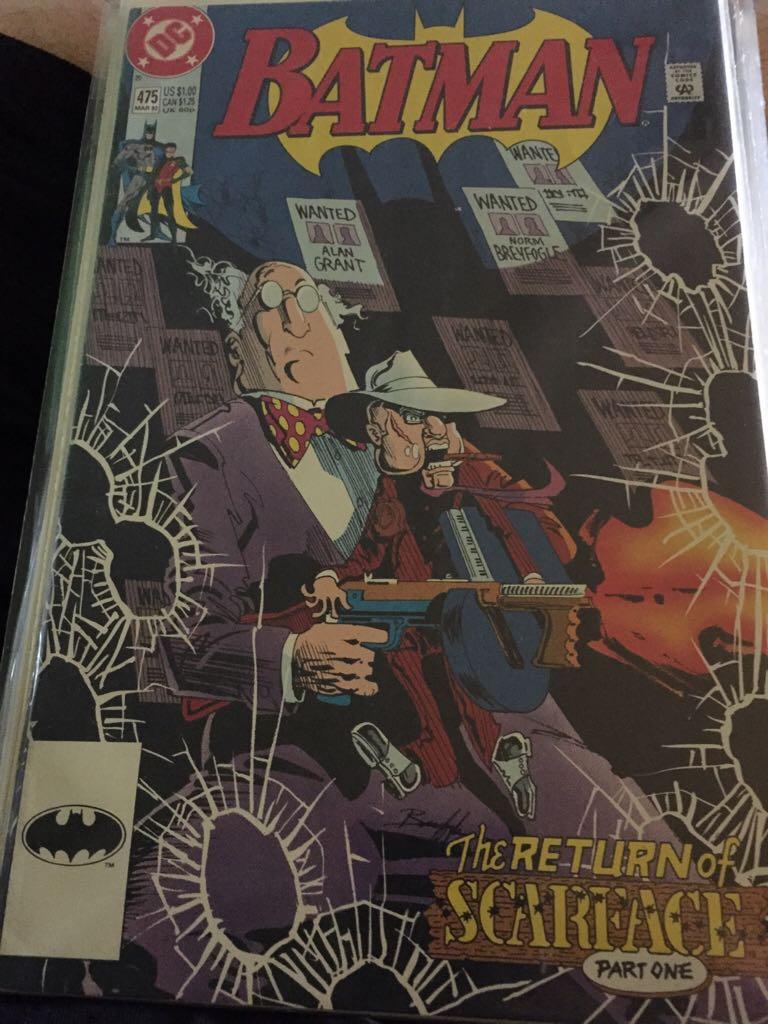 Batman - 475 cover