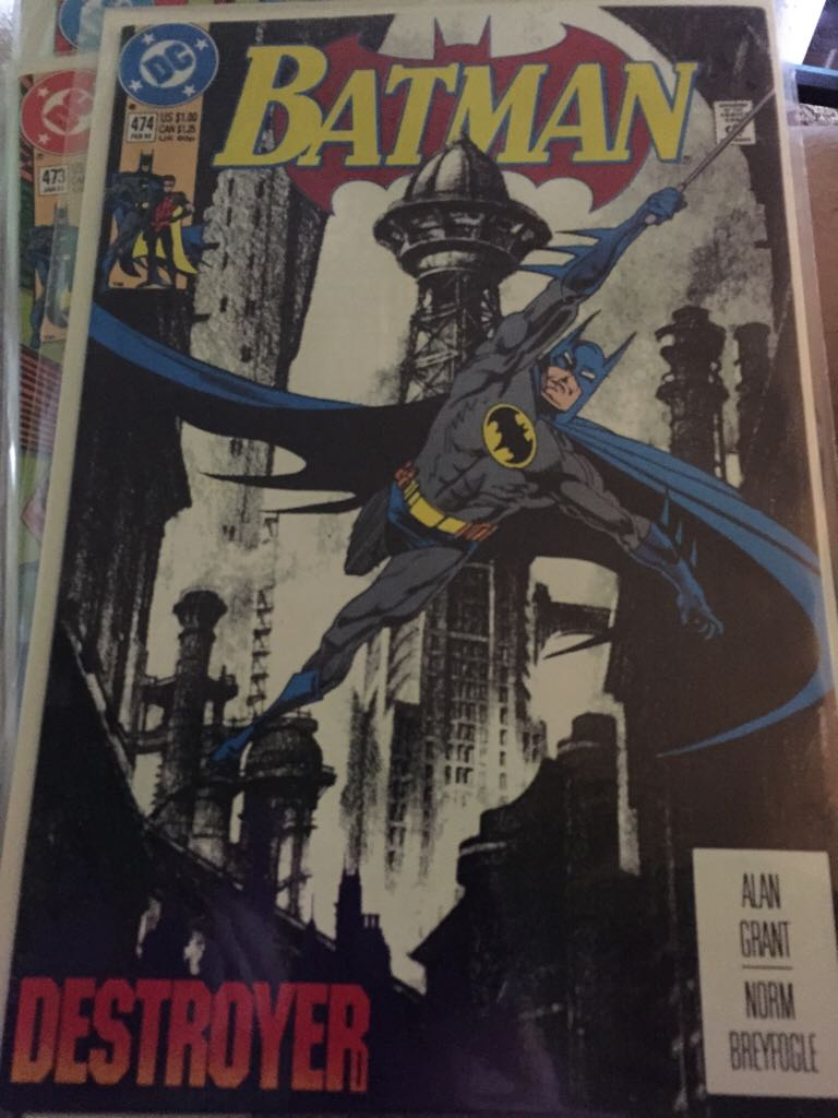 Batman - 474 cover