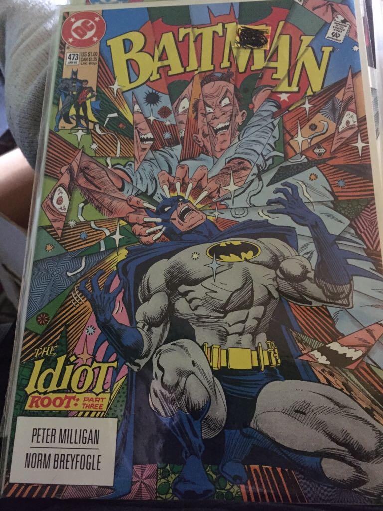 Batman - 473 cover