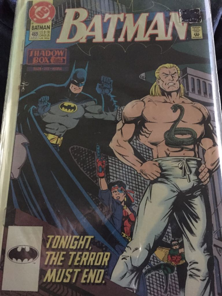 Batman - 469 cover