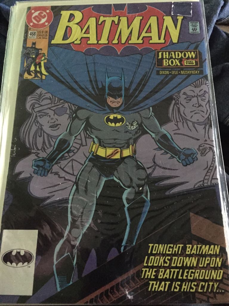 Batman - 468 cover