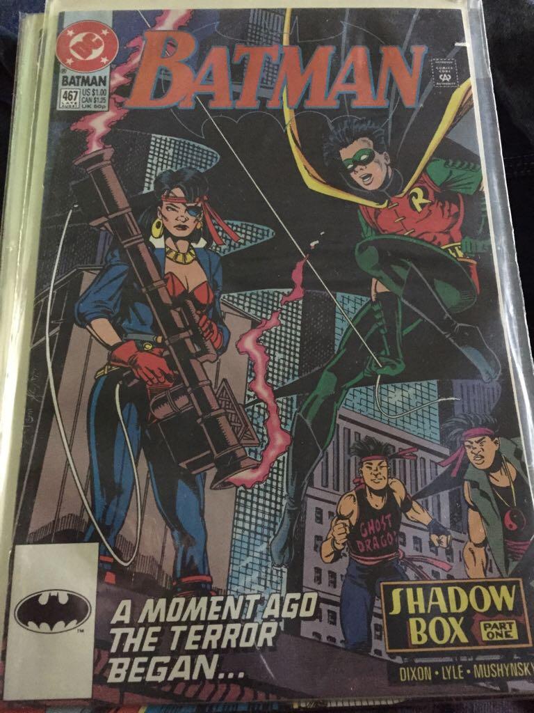 Batman - 467 cover