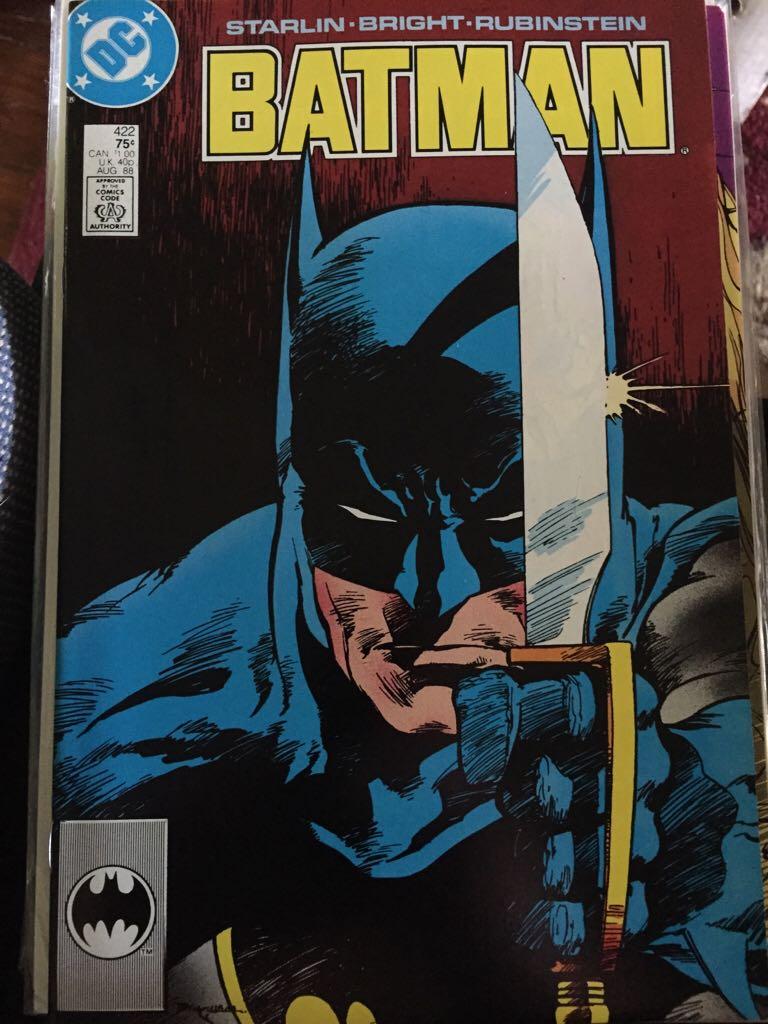 Batman - 422 cover