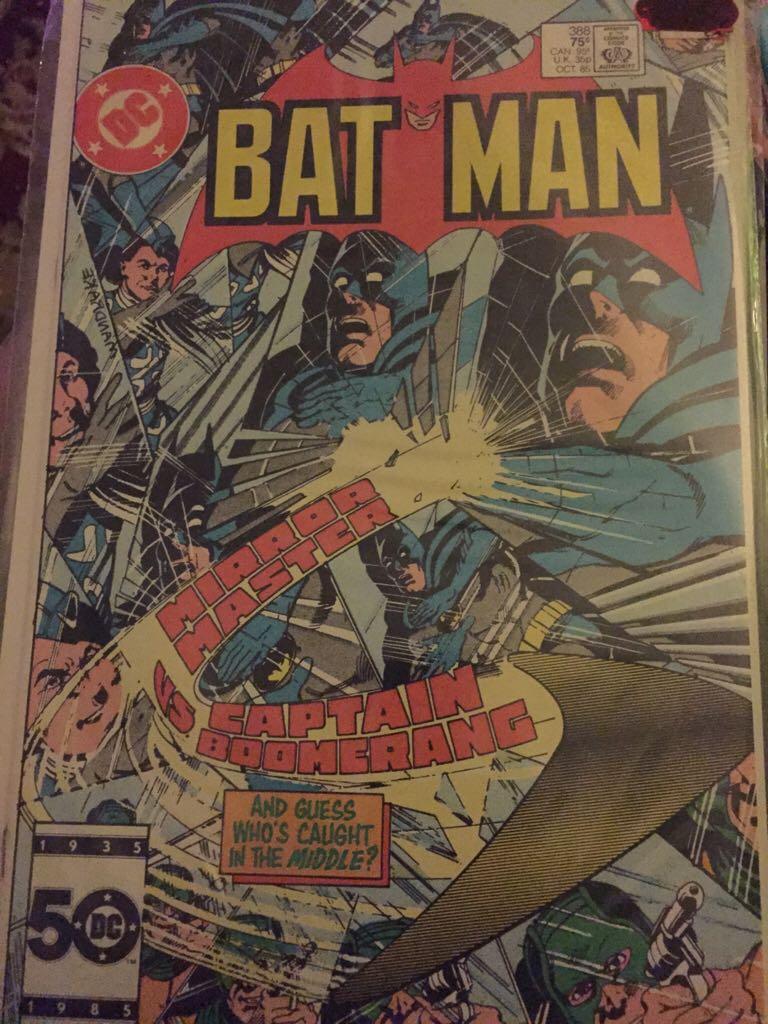 Batman - 388 cover