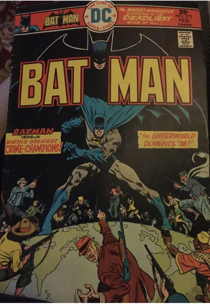 Batman - 272 cover