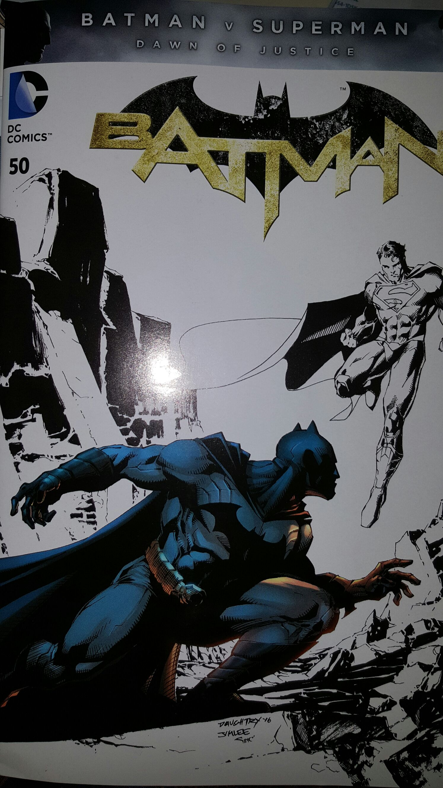 Batman - 50.1 cover