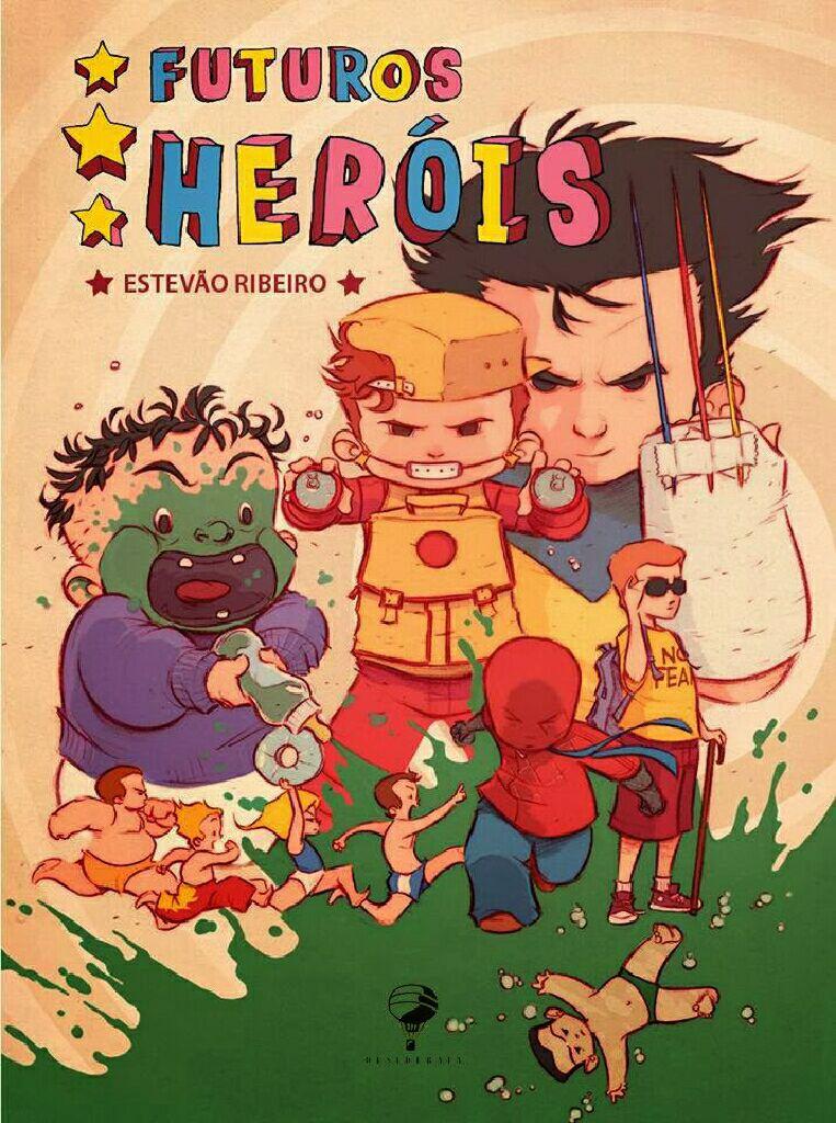 Futuros Heróis -  cover
