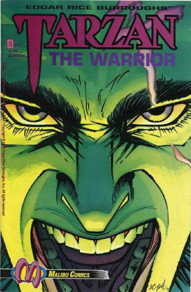 Tarzan The Warrior - 5 cover